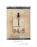Dragon Fly Posters by Julie Nightingale