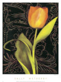 Tulip Manuscript II Posters by Sally Wetherby