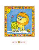 Balmy Summer Print by Isabelle Deguern