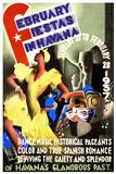February Fiestas in Havana, 1937 Posters