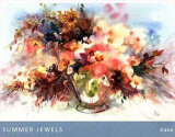 Summer Jewels Print by Edythe Kane