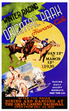 Winter Racing, Oriental Park, Havana, 1939 Posters