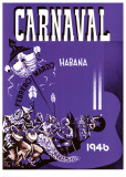 Carnaval, Habana, 1946 Poster