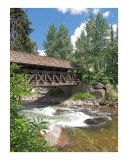 The Covered Bridge, Vail, Colorado Photographic Print by Jeff Knowlton