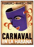 Carnaval, Habana, 1941 Prints
