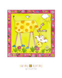 Sunny Spring Print by Isabelle Deguern