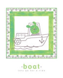 Lets Go for a Ride, Boat Posters by Isabelle Deguern