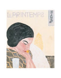 Le Primtemps Poster by Onchi Koshiro