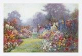 Summer Garden Posters by Alfred Fontville de Breanski