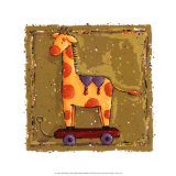 Giraffe Poster by Wilma Sanchez