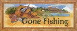 Gone Fishing Poster von Jerianne Van Dijk