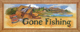 Gone Fishing Print by Jerianne Van Dijk