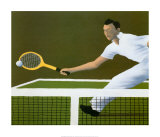Wimbledon, 1936 Posters by Vincent Scilla