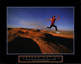 Determination: Runner Print