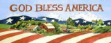 God Bless America Posters by Jerianne Van Dijk