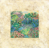 Summer Garden in Sand Prints by Diane Kline