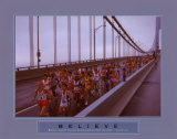 Believe: Marathon Runners Posters