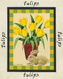 American Flowers III Print by Susan Stallman