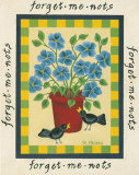 Fleurs am&#233;ricaines II Affiches par Susan Stallman