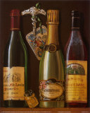 Champagne Bottles I Prints by Mariapia & Marinella Angelini