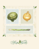 Antique Vegetables Prints by Alex Bloch