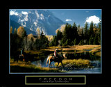 Freedom: Cowboys Prints