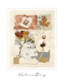Autumn Diary Kunstdruck von Hannah Vince