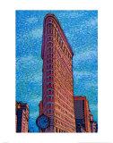 Flatiron Building Poster by Neil Waldman