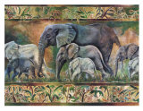 Elephant Parade Art by Pat Woodworth
