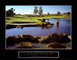 Führung– Golf Kunstdrucke