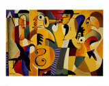Jazz Panel I Plakaty autor John Hillmer