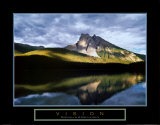 Vision - Reflet de montagne Affiches