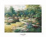Garden Trellis Posters by T. C. Chiu