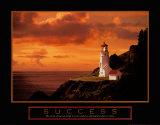 Success: Lighthouse Plakaty