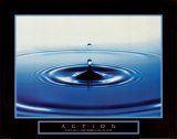 Action: Drop of Water Posters