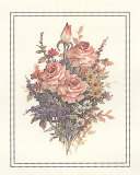 Roses Print by T. C. Chiu
