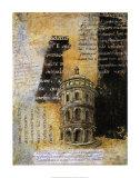 Edifice Study Poster by Olga Shagina