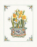 Daffodils Print by Ann McEachron