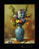 Bouquet of Annuals Prints by John Traynor