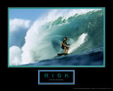 Risk: Surfer Print