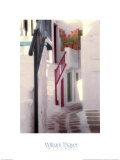Mykonos Street Prints by William Thayer