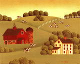 The Farm Posters by Susan Stallman