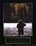 Leadership: Fisherman Kunstdruck