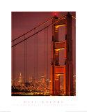 City Colors, San Francisco Bridge Prints by Stephen Simpson
