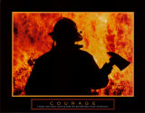 Courage Affiches