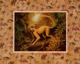 Safari: Affe Kunstdrucke von T. C. Chiu
