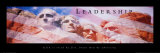 Leadership: Mount Rushmore Plakat