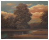 Orange Clouds I Posters by Tan Chun