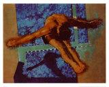 Saltador olímpico Arte por Michael Dudash