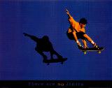 No Limits Skateboarder Plakat